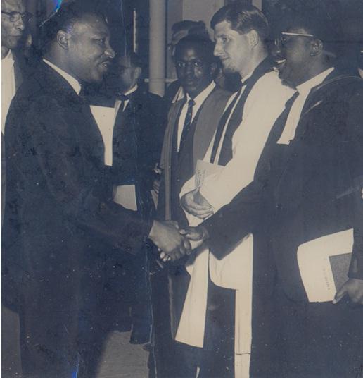 Dr. King's visit